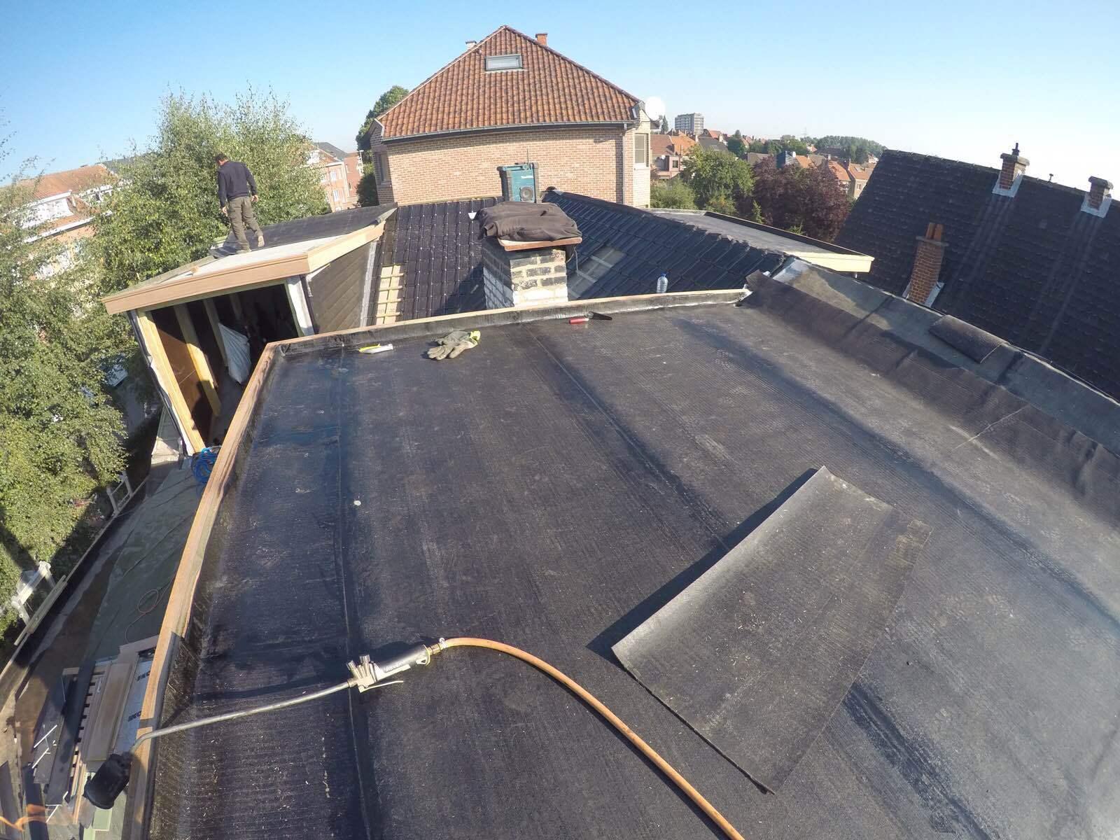 comment faire un toit plat avec toitures peeters