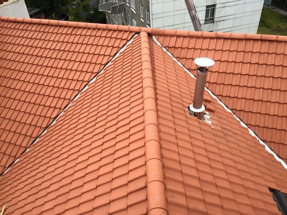 toit en tuile par les toitures peeters